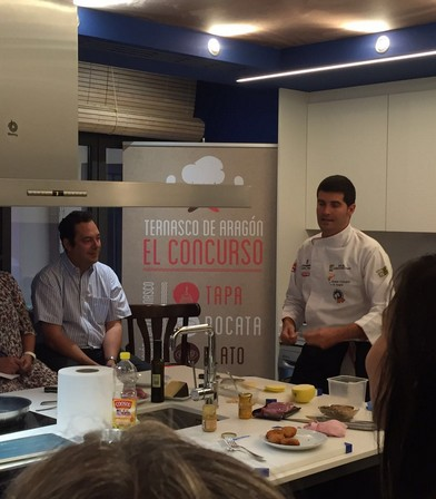 Curso de cocina con Ternasco de Aragón