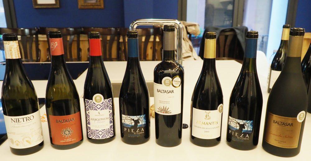 Cata de vinos de la D.O Calatayud